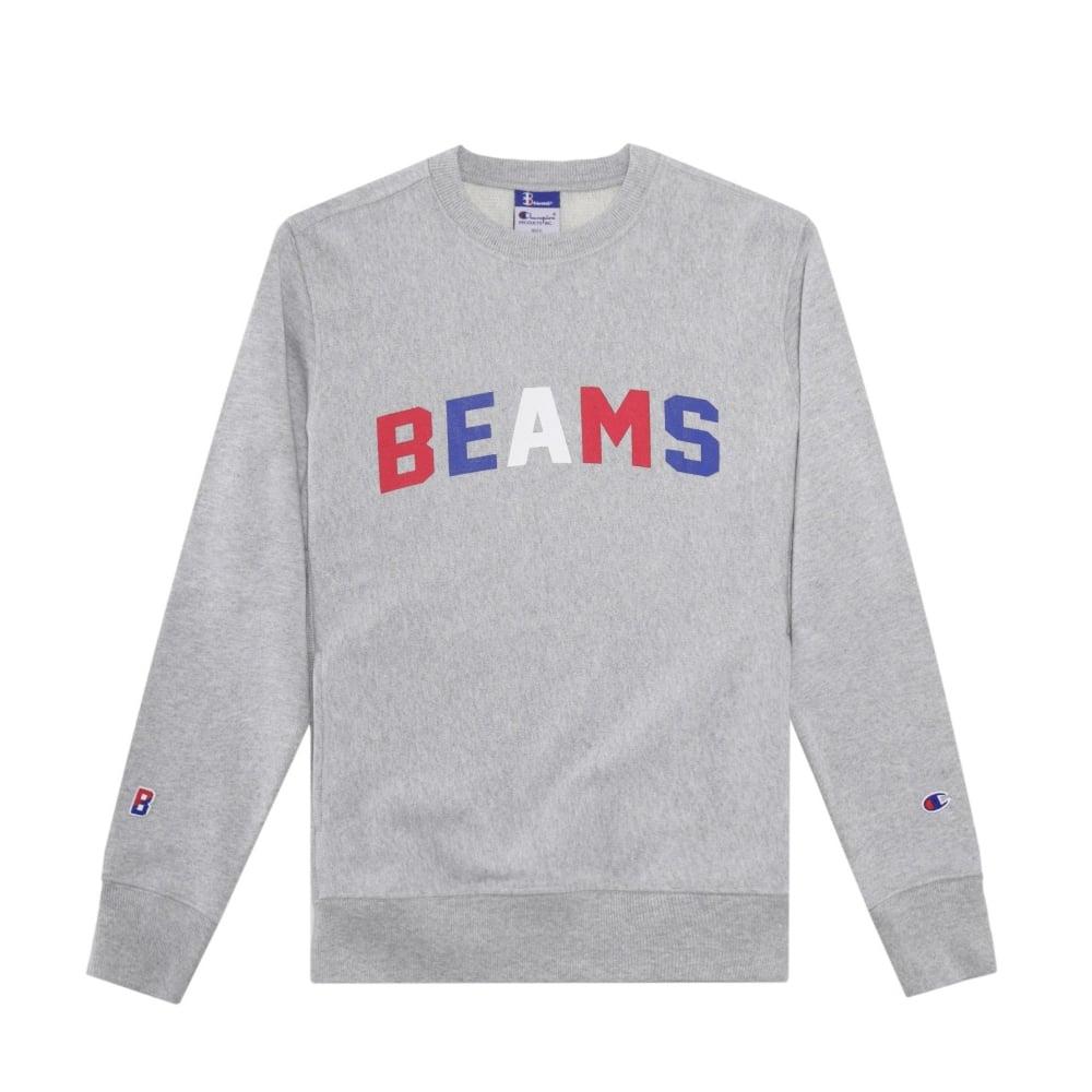 Champion X Beams Crewneck Sweatshirt Mens Clothing From