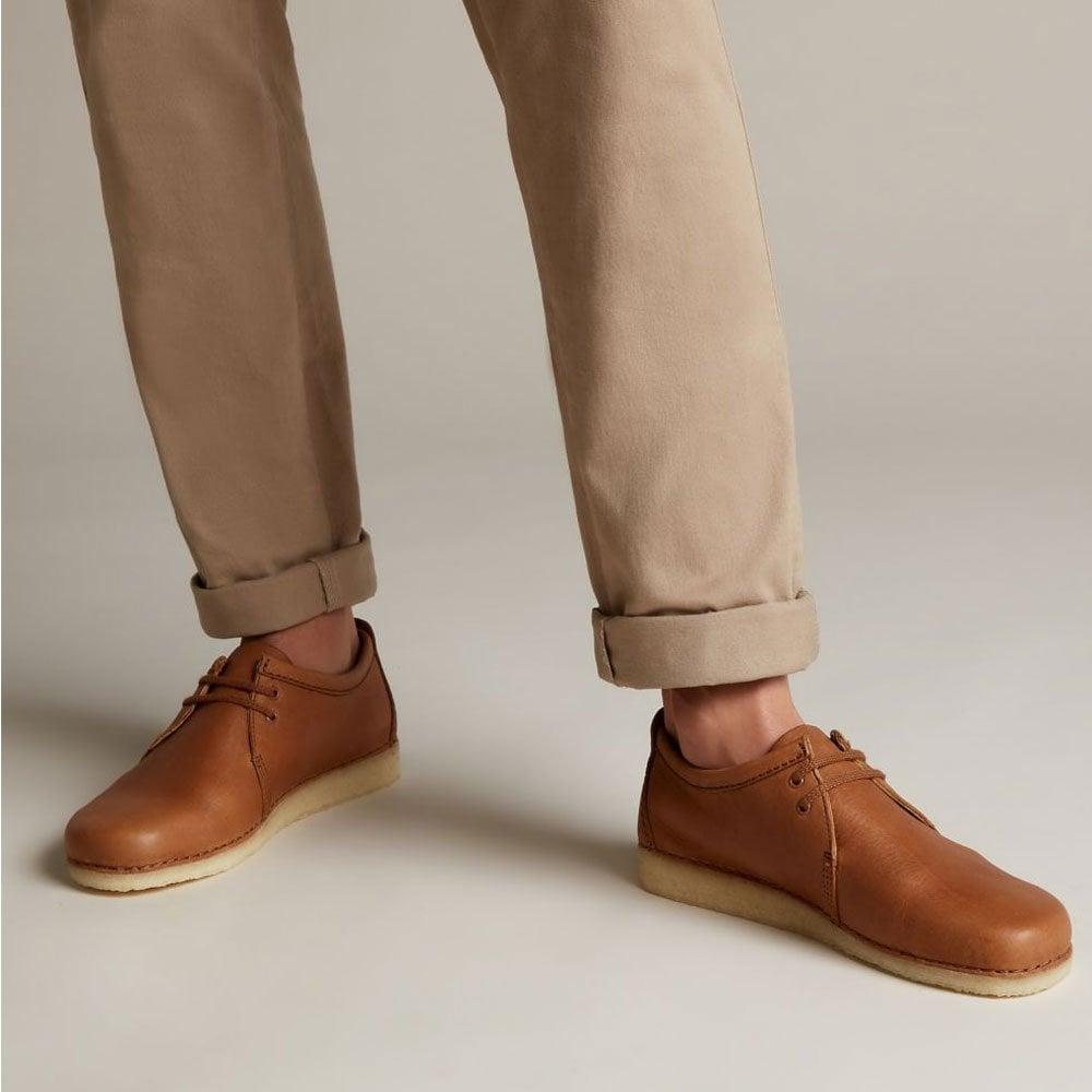 9ee8df7617 Clarks Originals Ashton Leather - Cola - Mens Footwear from Cooshti.com