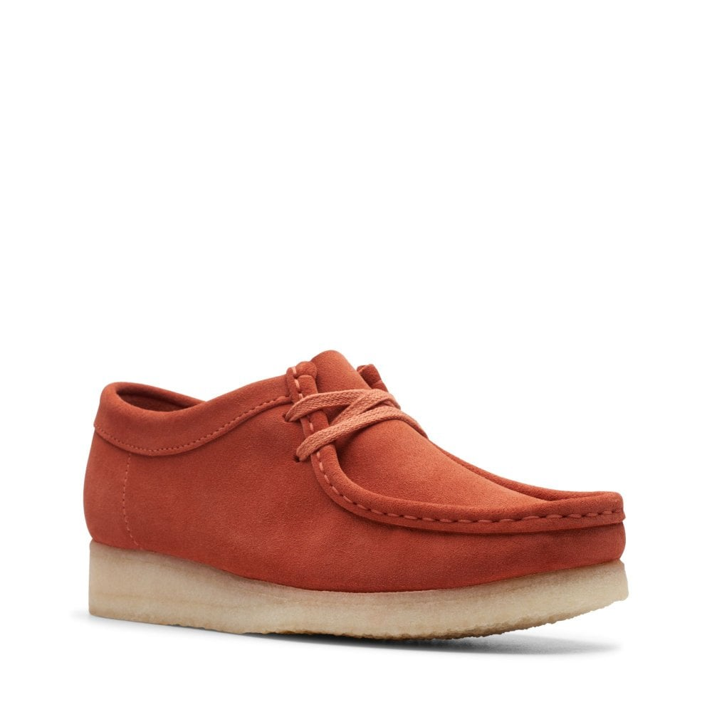 good texture clearance prices famous brand Wallabee Womens - Burnt Orange
