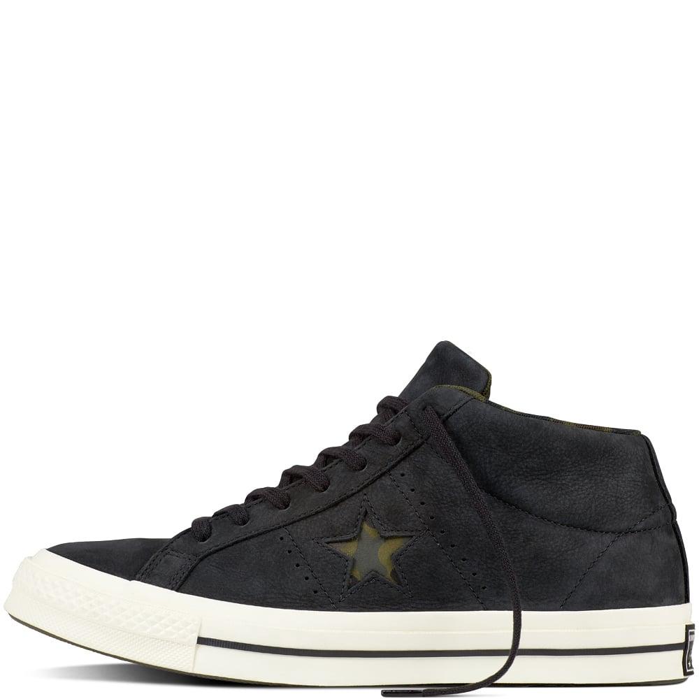 a9bf2f5ddccf0 Converse One Star Mid Nubuck Utility Camo - Mens Footwear from ...