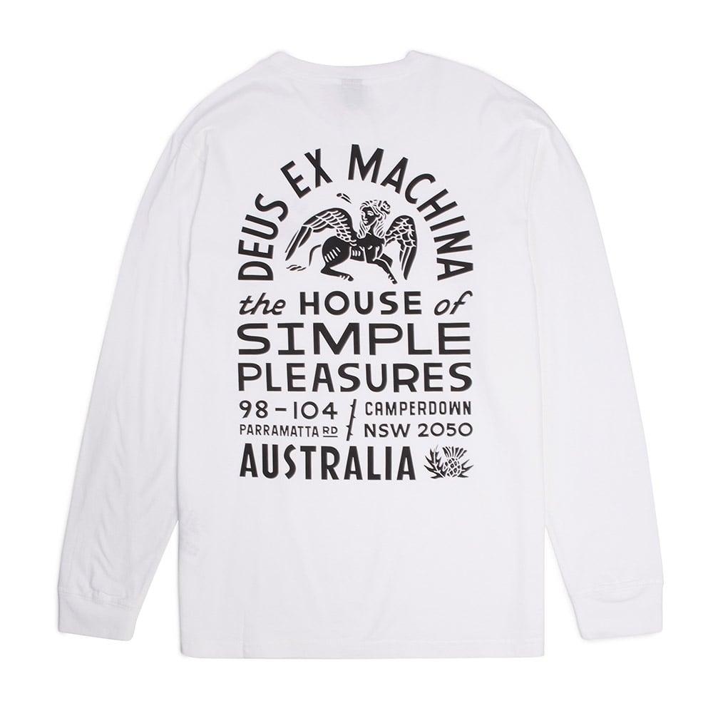 Deus Ex Machina Simple Pleasures Ls Tee - Mens Clothing from Cooshti.com 34d1f8d1b1e