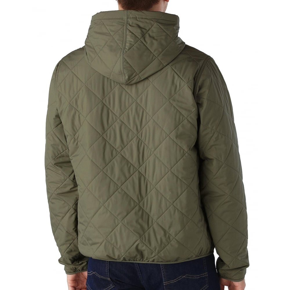 8b53e1a80 Diamond Quilted Bomber Hoody