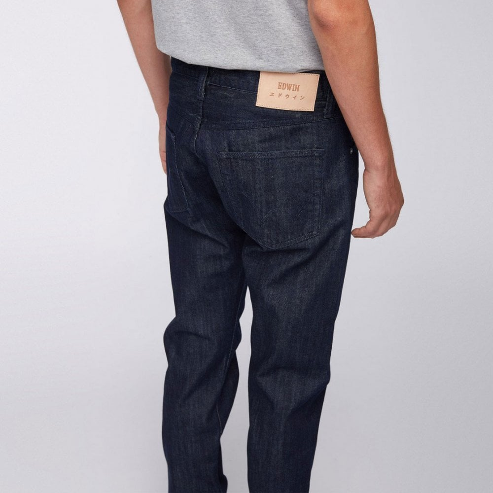 c9559199 Edwin ED-55 Regular Tapered Kingston Blue Denim - Rinsed - Mens ...