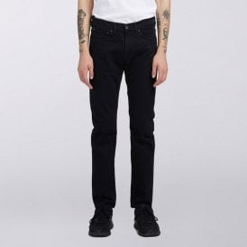 1fff8d61 ED-80 Slim Tapered Jeans CS Power Black Denim - Rinsed