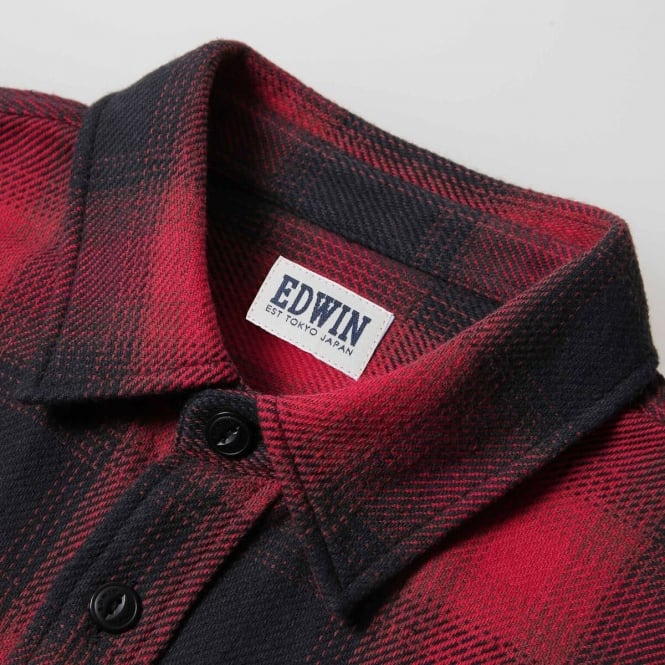 4cf6af59f230 Edwin Labour Shirt Heavy Flannel - Mens Clothing from Cooshti.com