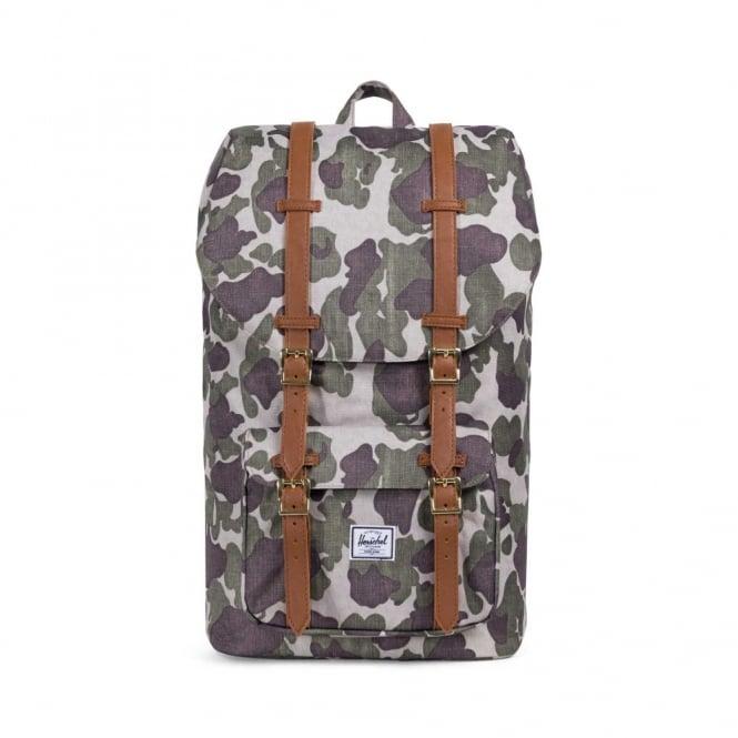 cc253cfd40e Herschel Supply Co. Little America Backpack - Frog Camo - Mens ...