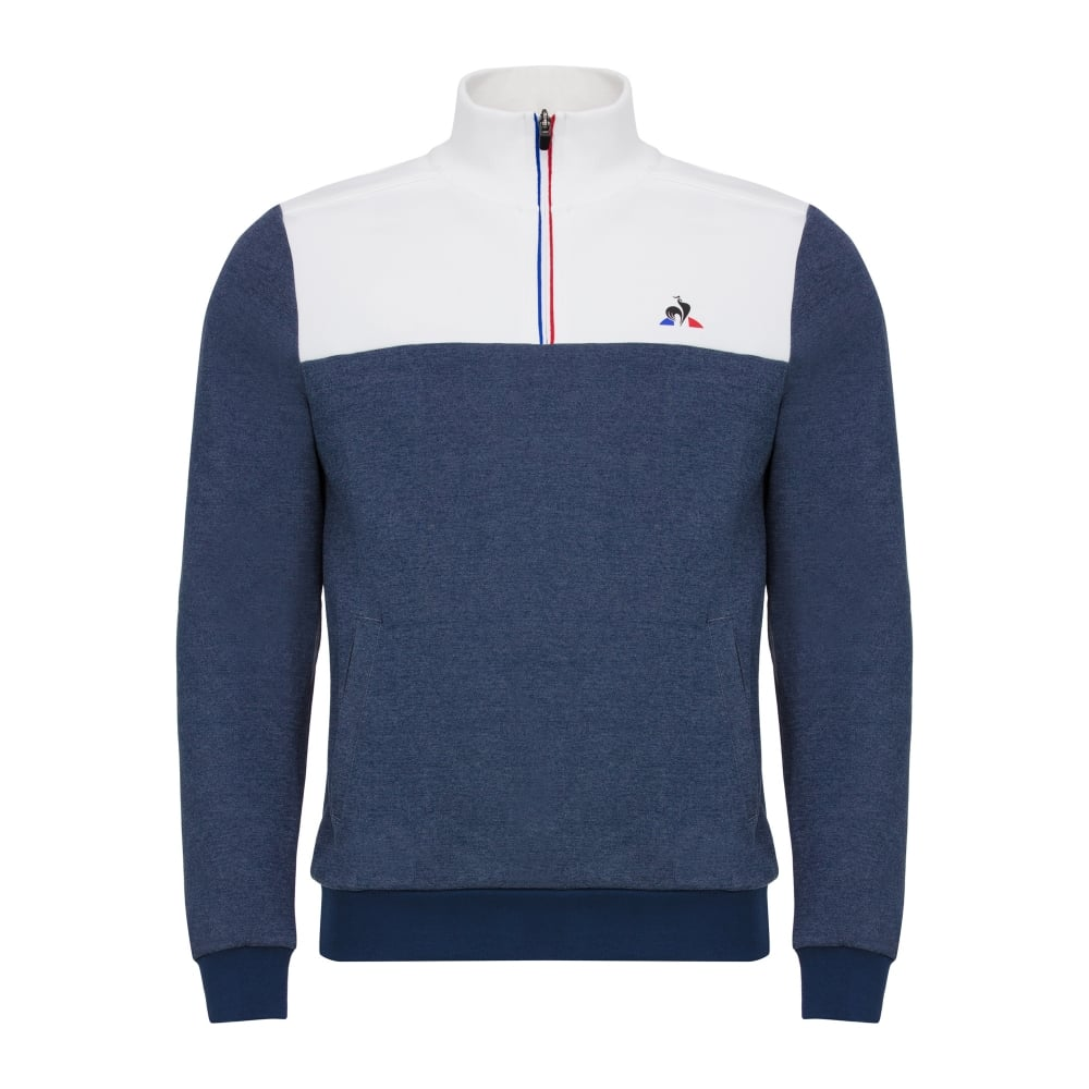 Le Coq Sportif Tri Sweat 1/2 Zip - Mens Clothing