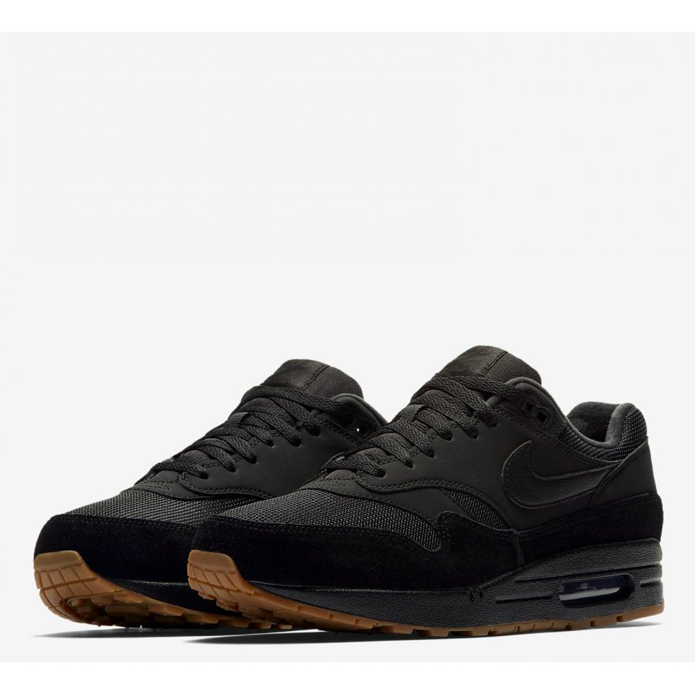89a2396f8a Nike Air Max 1 - Black/Gum - Mens Footwear from Cooshti.com