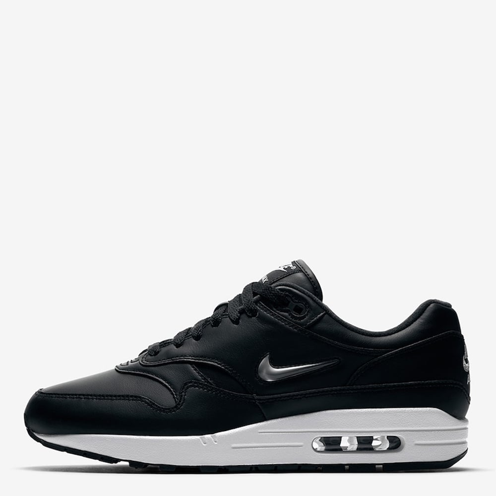 nike air max 1 premium sc jewel black metallic silver mens footwear from. Black Bedroom Furniture Sets. Home Design Ideas