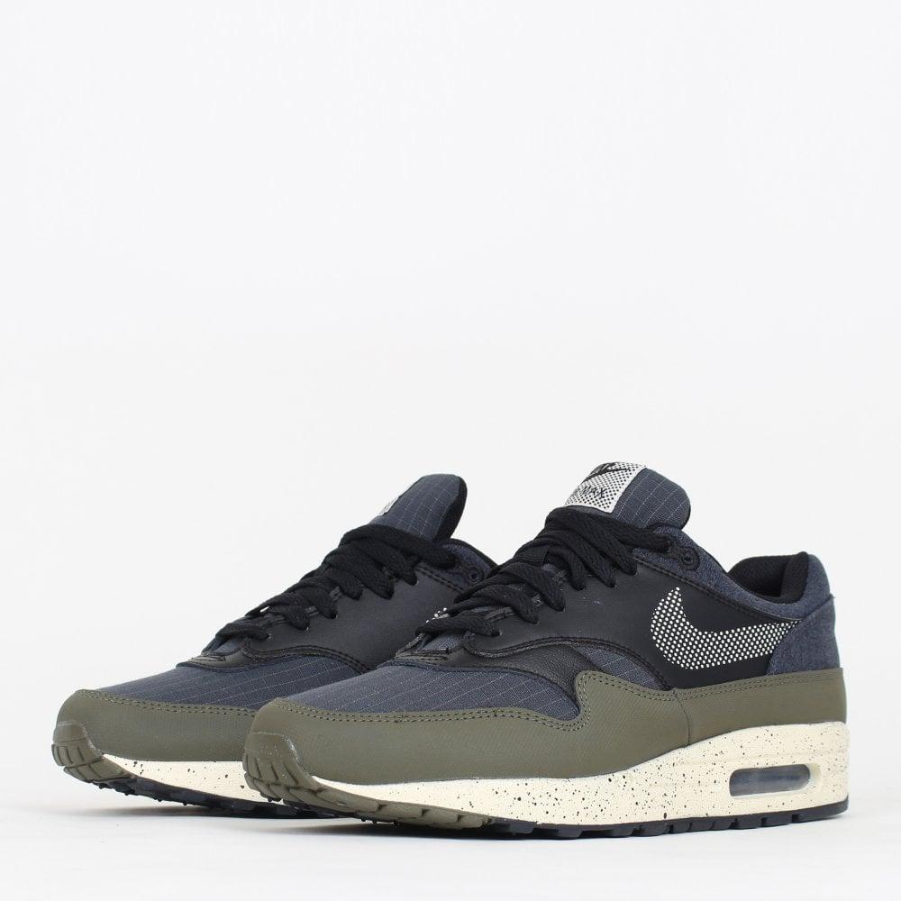 Nike Air Max 1 SE - Olive / Black - Mens Footwear from Cooshti.com