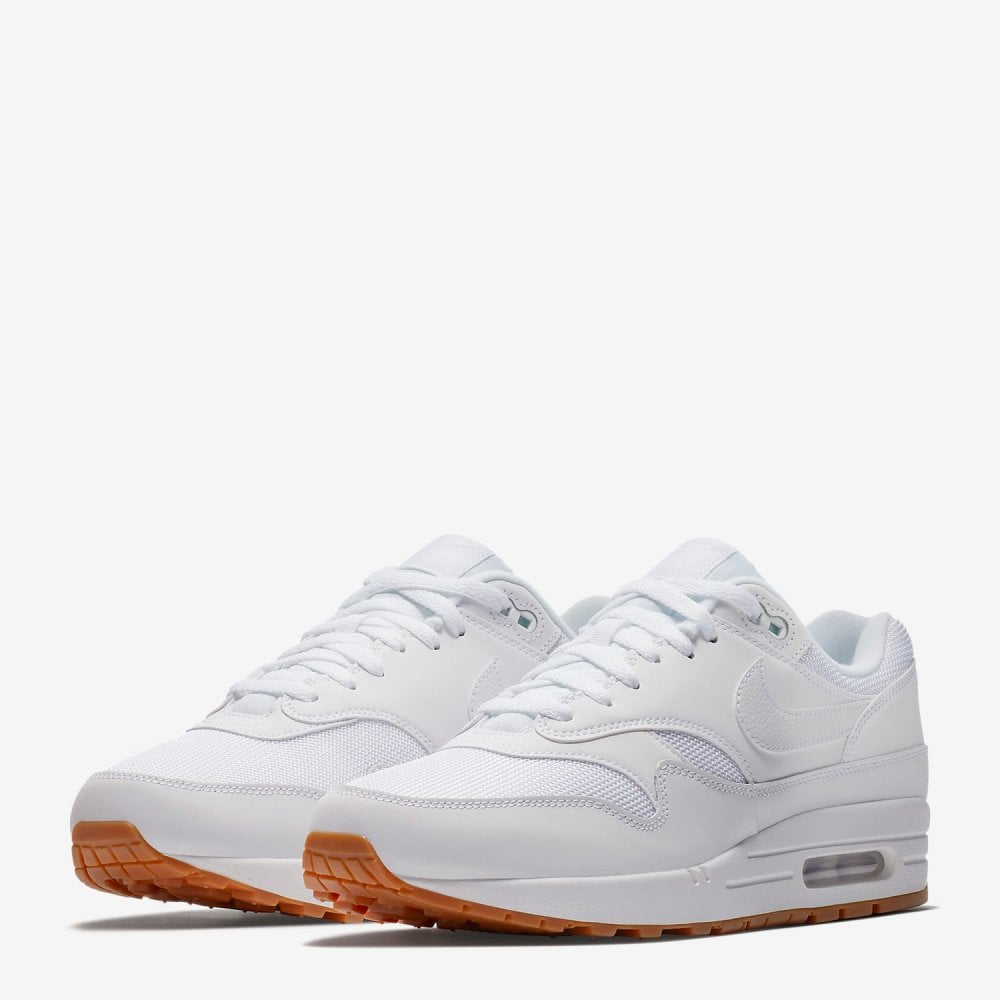 huge selection of ac3eb 99780 Nike Air Max 1 - White Gum - Mens Footwear from Cooshti.com