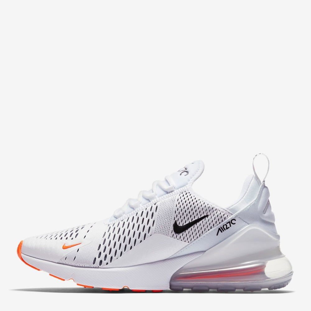 quality design ceb17 5fc56 Air Max 270 - White/Total Orange