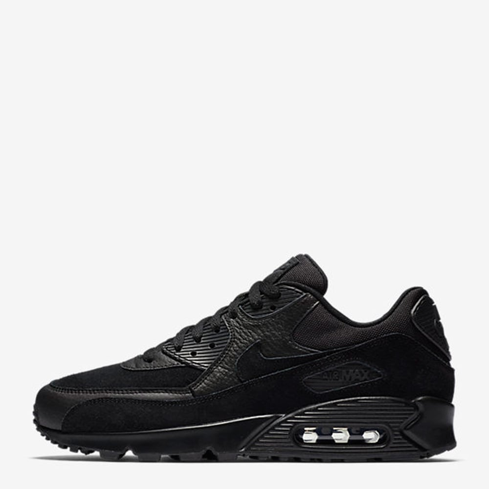 magasin d'usine d226b 43ccf Air Max 90 Premium 'Triple Black'