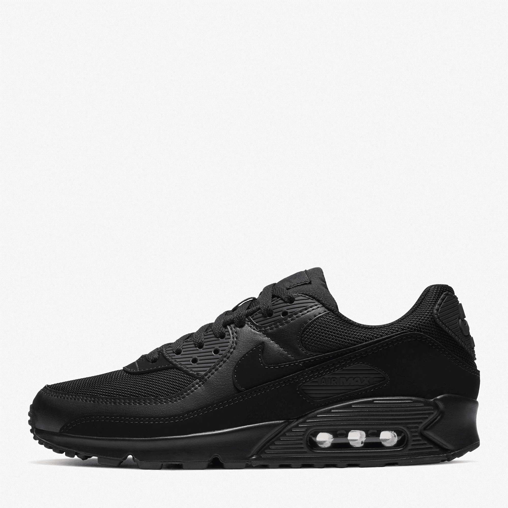 Nike Air Max 90 Triple Black - Mens