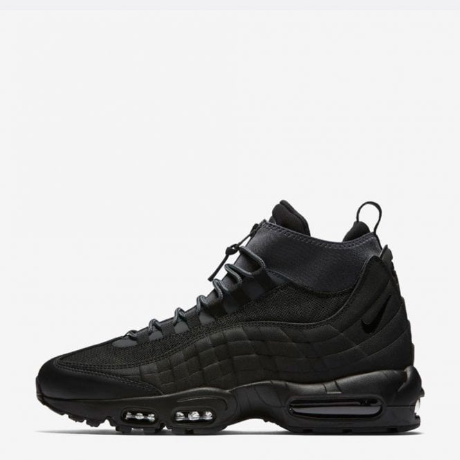 Mens Nike Air Max 95 Winter Sneakerboot Running Shoes Black