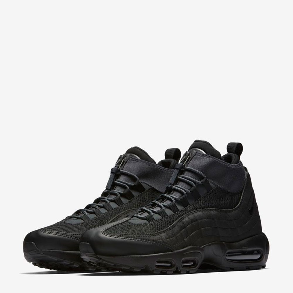 info for 81544 43f02 Nike Air Max 95 Sneakerboot - Black / Black