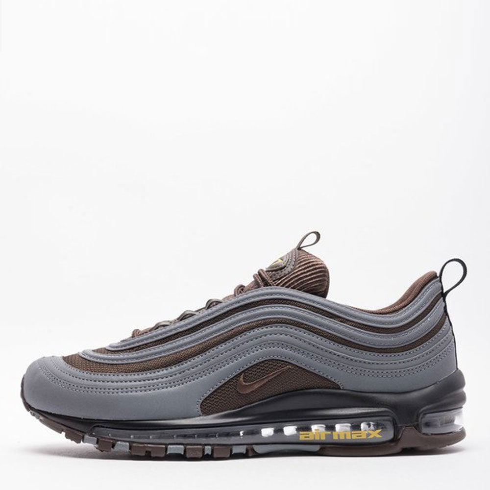 c629391fc0ac Nike Air Max 97 Premium - Cool Grey   Baroque Brown - Mens Footwear ...