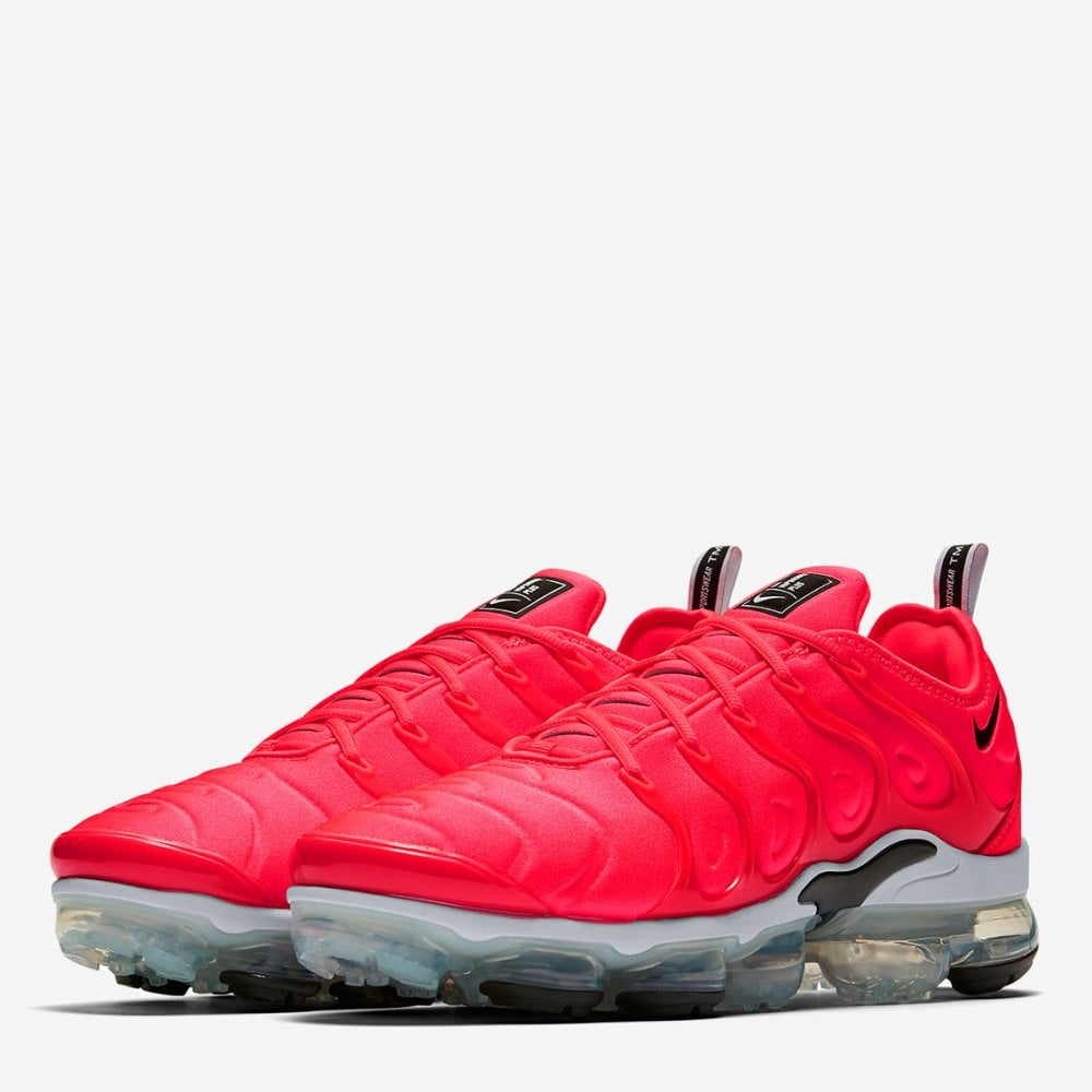 Nike Air Vapormax Plus - Bright Crimson - Mens Footwear from Cooshti.com 9e02db759d61