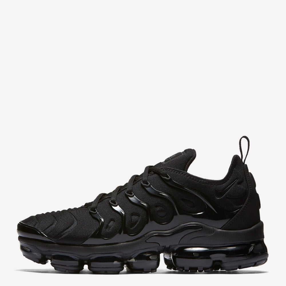 50fdce6b4a1 Nike Air VaporMax Plus  Triple Black  - Mens Footwear from Cooshti.com