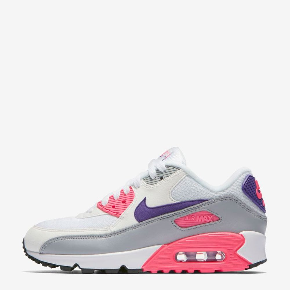 half off f4eb1 a2cd6 Nike Women's Air Max 90 - Court Purple / Wolf Grey / Laser Pink