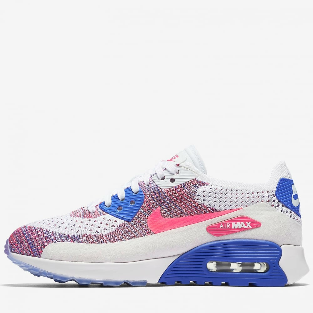 hot sales 32364 36fbd Nike Womens Air Max 90 Flyknit Ultra 2.0