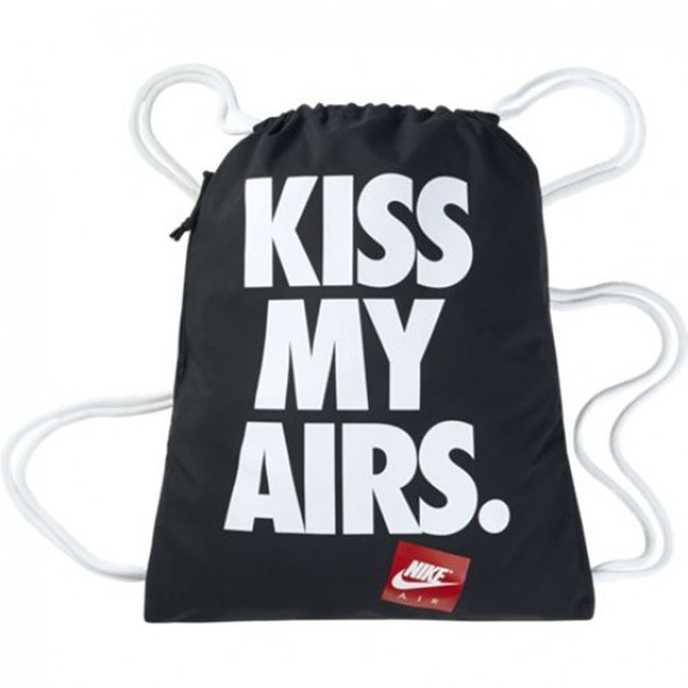 b82fc436925a Nike Heritage Kiss My Airs Gym Sack 2-gfx - Unisex Accessories from ...