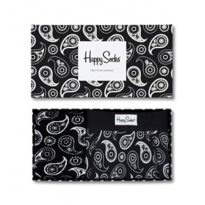 Paisley Mens Trunk & Socks