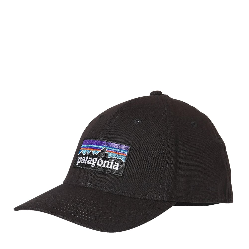 Patagonia P-6 Logo Stretch Fit Hat - Mens Accessories from Cooshti.com 3365483cb50