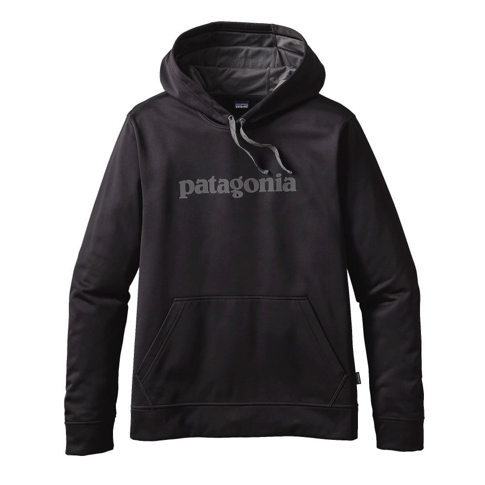 the best on sale great fit Patagonia Text Logo PolyCycle® Hoody - Mens Clothing from Cooshti.com