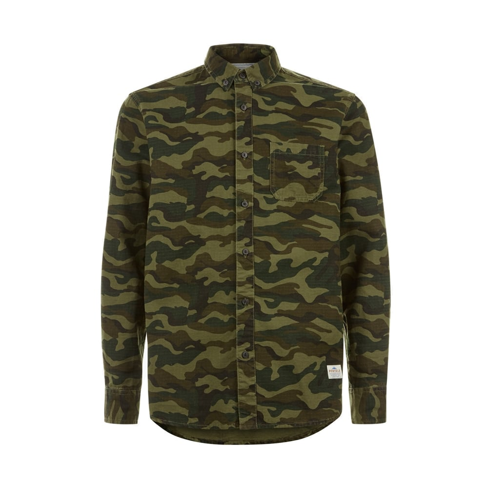 Penfield Gridley Camo Shirt - Mens Clothing from Cooshti.com 7c260109fc5
