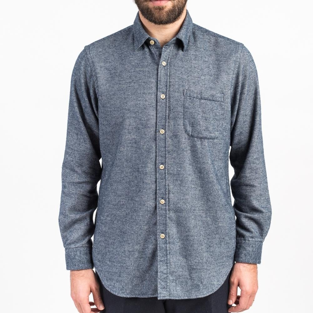 portuguese flannel teca shirt mens clothing from