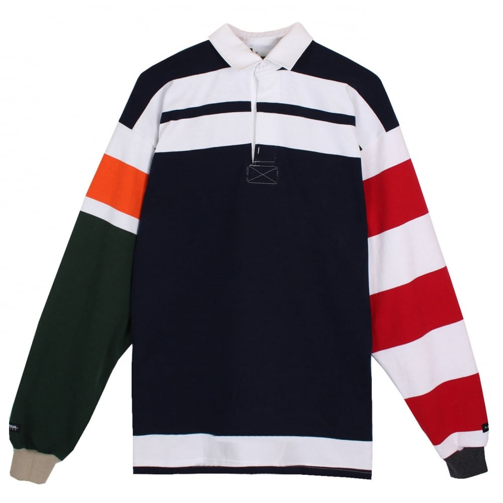 40b88d923a1 Raised By Wolves Barbarian Wild Ones Rugby - Mens Clothing from ...