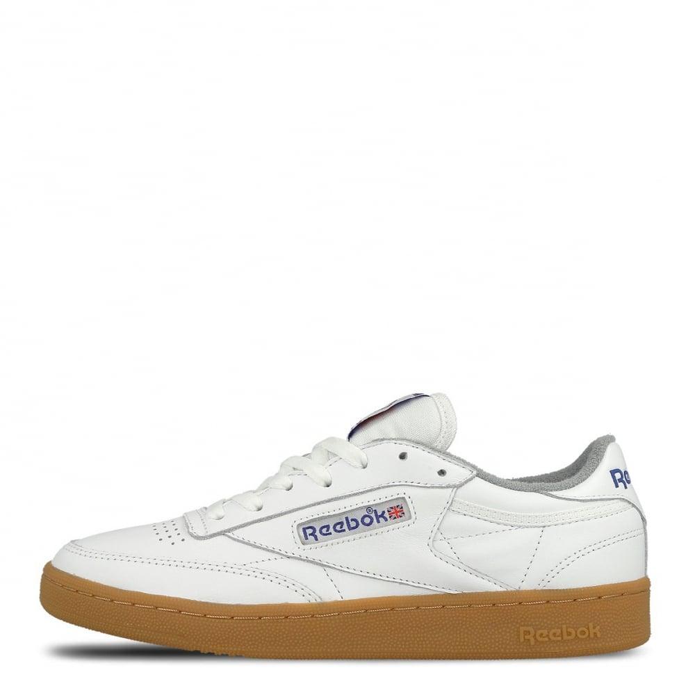 1355a31d34a Reebok Club C 85 White-Gum - Mens Footwear from Cooshti.com