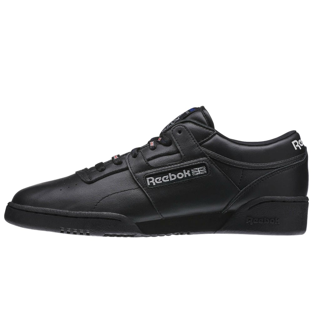 REEBOK CLASSIC AQ9975 Workout Lo Clean 1895 Sneakers Schwarz