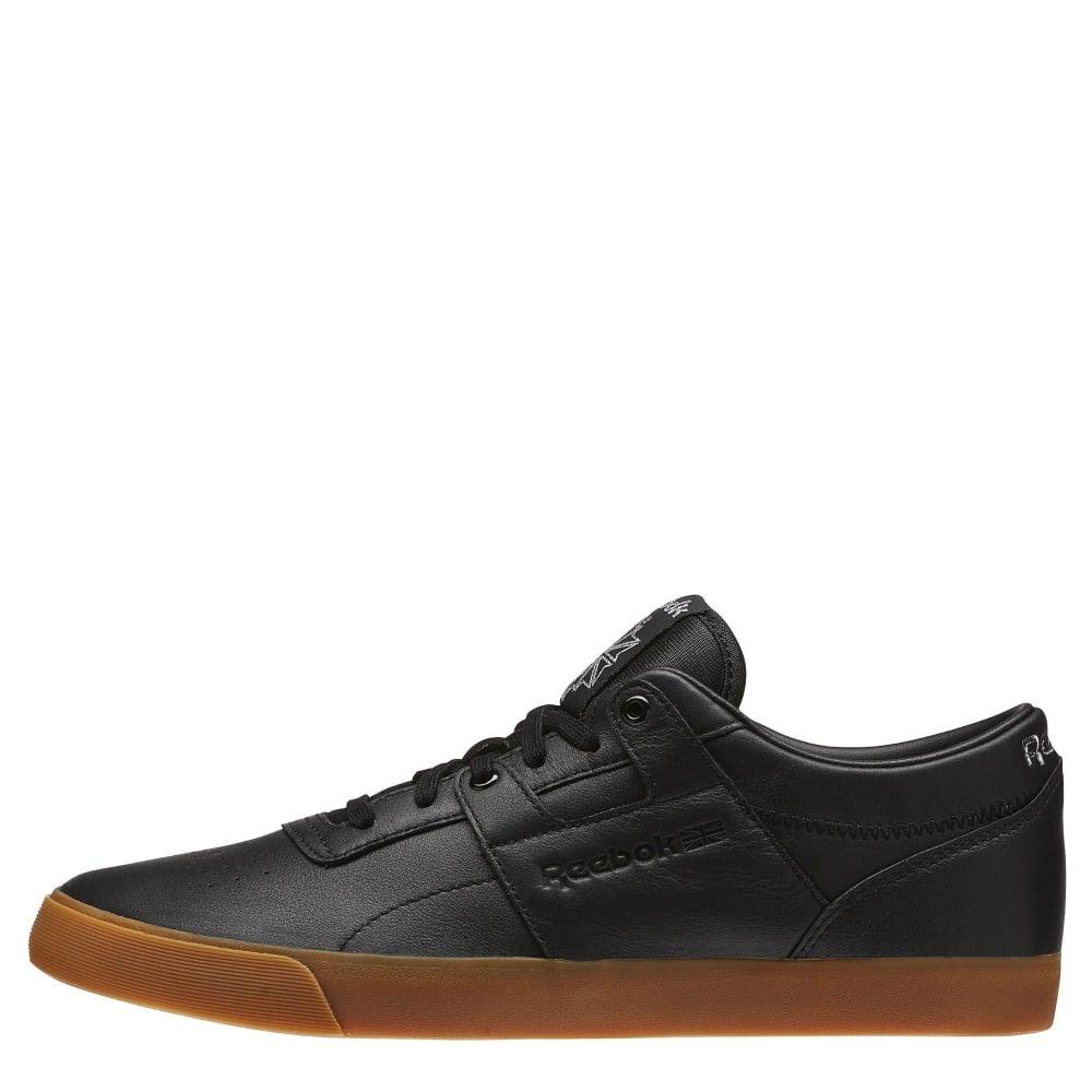 Reebok Workout Low Clean FVS Black   Gum - Mens Footwear from ... f1b277df6