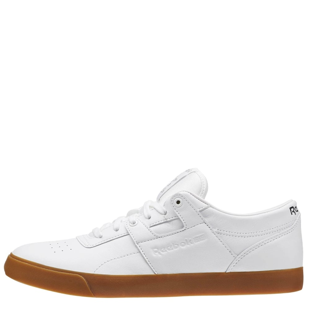 Reebok Workout Low Clean FVS White-Gum - Mens Footwear from Cooshti.com 439ca455c