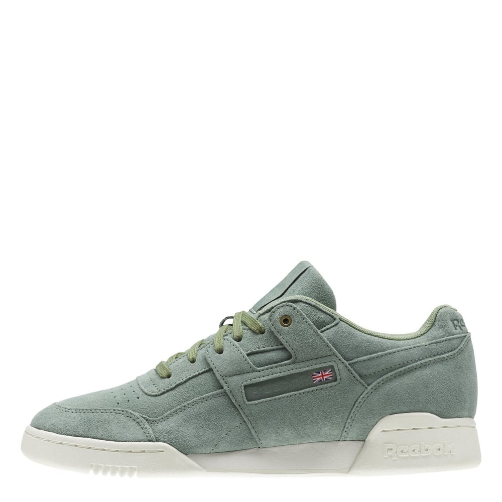 389c403f22fe2 Reebok Workout Plus Montana Cans Collaboration - Mens Footwear from ...