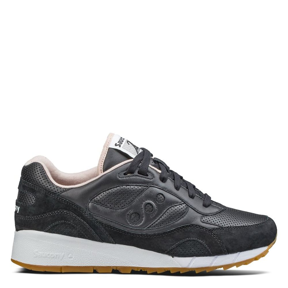 Saucony Shadow 6000 HT Perforated Sneakers In White S70349 2