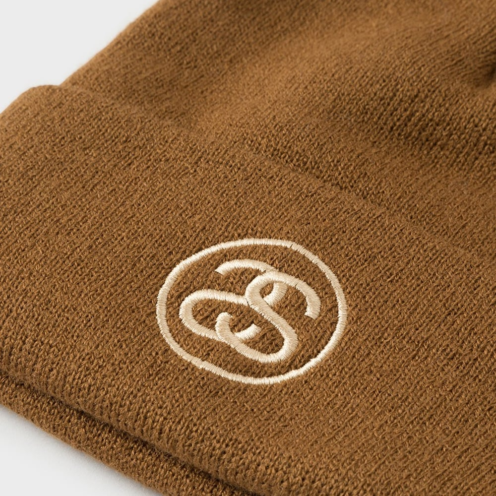 bc5c5968502 Stussy SS-Link Pom FA17 Cuff Beanie - Unisex Accessories from ...