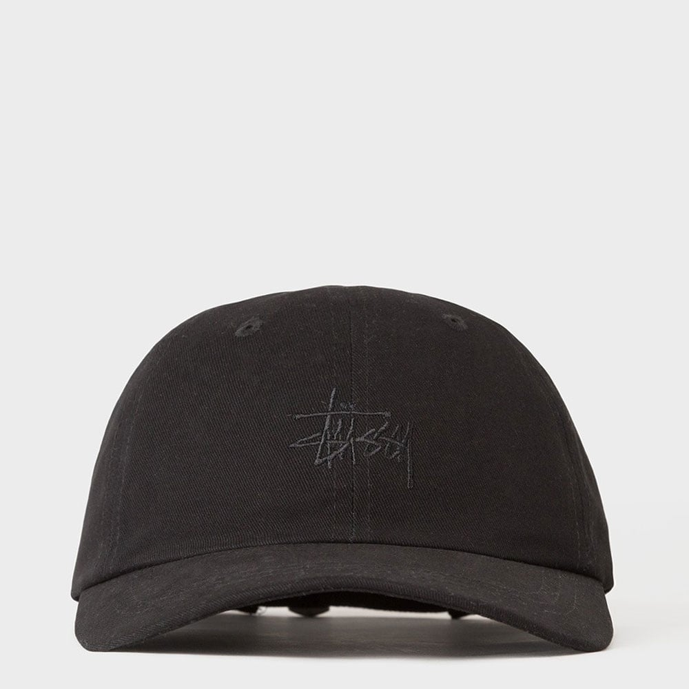 Stussy Basic Logo Low Pro Cap - Mens Accessories from Cooshti.com dde0206909a