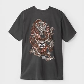 Fire Dragon Pigment Dyed T-shirt