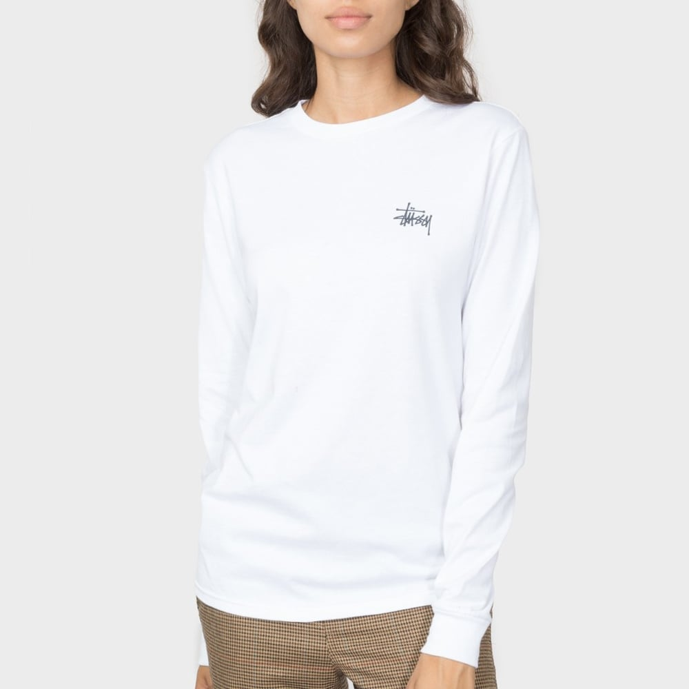 Stussy Women s Basic Stüssy L s Tee - Womens Clothing from Cooshti.com 9211a582a5