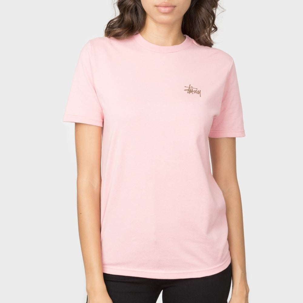Stussy Women s Basic Stüssy Tee - Womens Clothing from Cooshti.com 4919670ff3