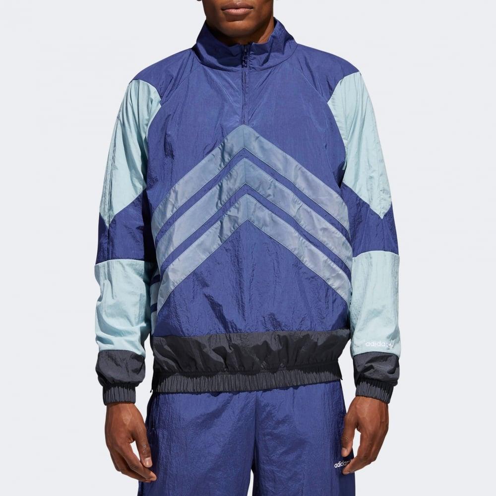 adidas V Stripes Windbreaker Blau | adidas Deutschland