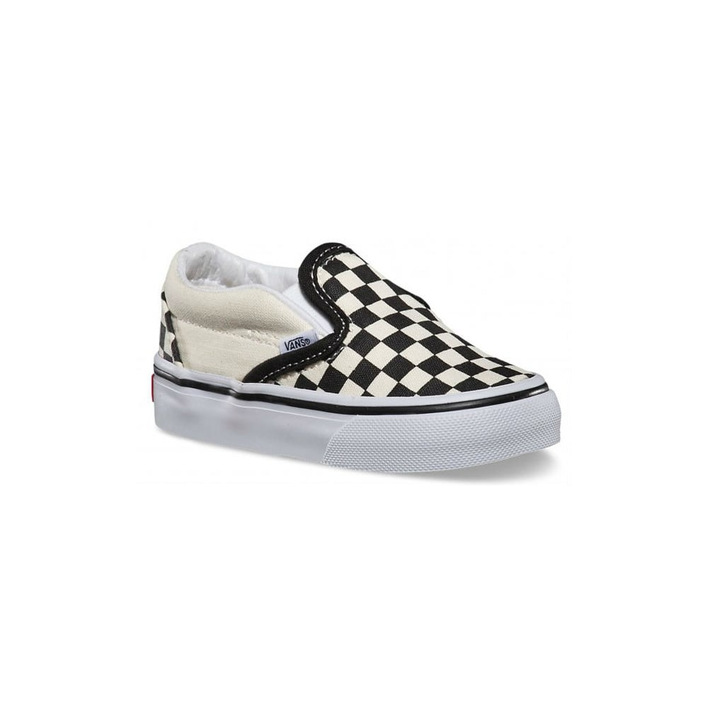 27b0ef455a7 Vans Toddlers Classic Slip-on Checkerboard