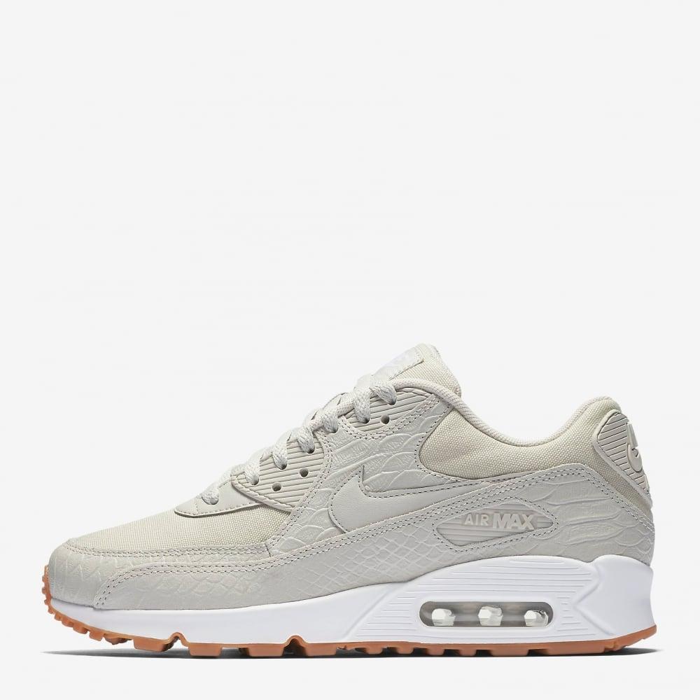 Nike Wmns Air Max 90 Premium   Silver   Sneakers   896497