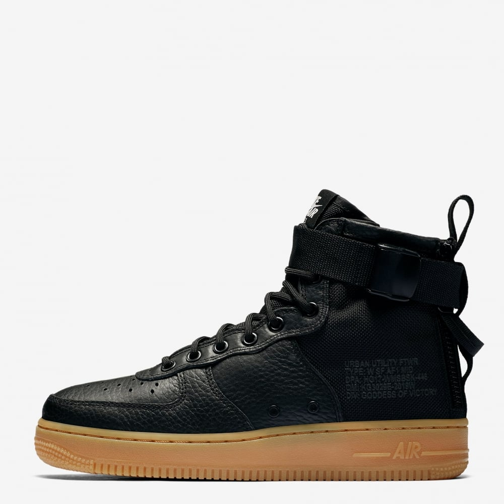 nike womens nike sf air force 1 mid womens footwear from