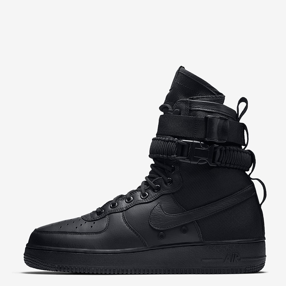 Nike Womens Nike SF Air Force 1 - Triple Black - Womens Footwear ... df814defd