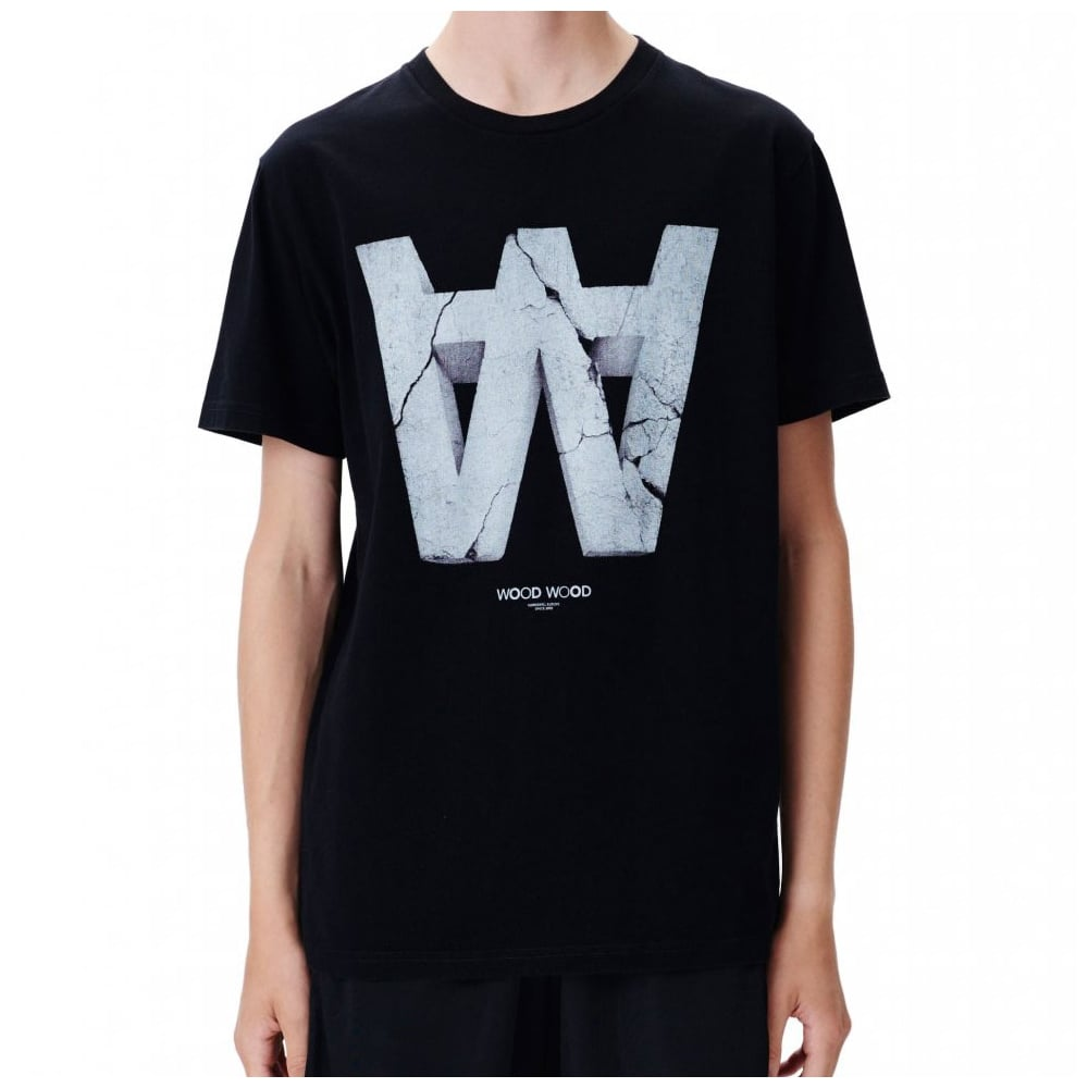 Wood Wood Aa Crack T Shirt Mens Clothing From Cooshti Com