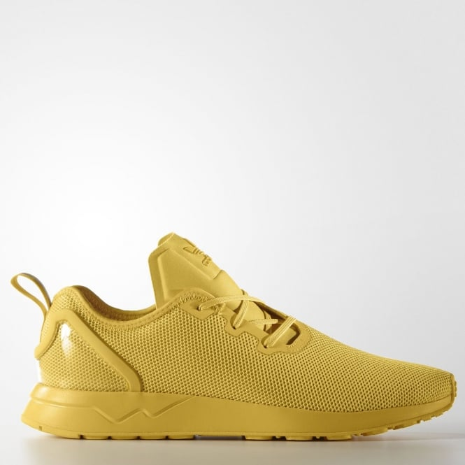 fbf1b8b005708d Adidas Originals Zx Flux Adv Asym Unisex Triple Yellow - Womens ...